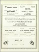 1957 San Angelo Central High School Yearbook Page 246 & 247