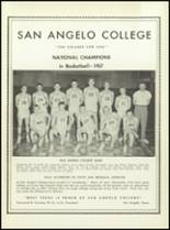 1957 San Angelo Central High School Yearbook Page 254 & 255