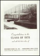 1978 Middleborough High School Yearbook Page 174 & 175
