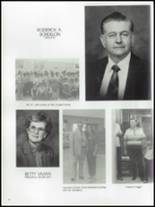 1984 United High School Yearbook Page 22 & 23