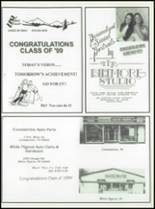 1999 White Pigeon High School Yearbook Page 164 & 165