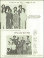1973 Glenville High School Yearbook Page 142 & 143