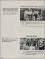 1981 Cleveland High School Yearbook Page 26 & 27
