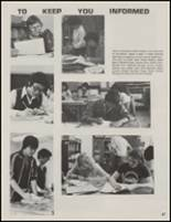 1981 Cleveland High School Yearbook Page 50 & 51
