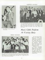 1963 Amherst Central High School Yearbook Page 46 & 47