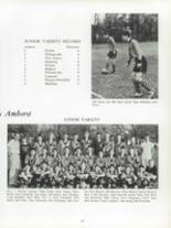 1963 Amherst Central High School Yearbook Page 58 & 59