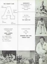 1963 Amherst Central High School Yearbook Page 154 & 155