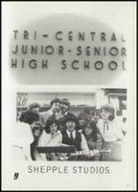 1981 Tri-Central High School Yearbook Page 90 & 91
