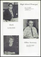 1961 Union High School Yearbook Page 16 & 17