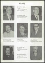 1961 Union High School Yearbook Page 18 & 19
