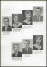 1961 Union High School Yearbook Page 24 & 25