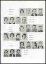1961 Union High School Yearbook Page 34 & 35