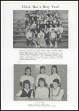 1961 Union High School Yearbook Page 52 & 53