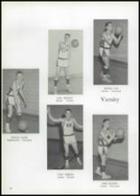 1961 Union High School Yearbook Page 72 & 73