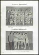 1961 Union High School Yearbook Page 74 & 75