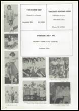 1961 Union High School Yearbook Page 102 & 103