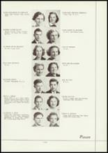 1938 Battle Creek Central High School Yearbook Page 24 & 25