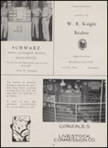 1962 Gonzales High School Yearbook Page 162 & 163