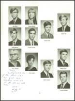 1968 Upper Merion High School Yearbook Page 132 & 133