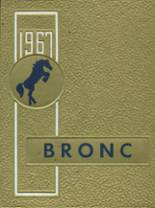 1967 Yearbook Kern Valley High School