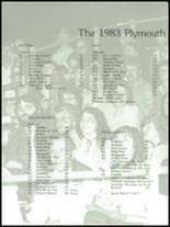 1983 Plymouth High School Yearbook Page 32 & 33