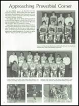 1983 Plymouth High School Yearbook Page 50 & 51
