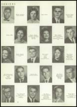 1961 Donart High School Yearbook Page 26 & 27