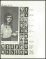 1975 Maria High School Yearbook Page 108 & 109