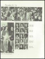 1975 Maria High School Yearbook Page 126 & 127