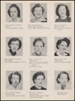 1950 Andrews High School Yearbook Page 16 & 17
