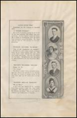 1919 Corpus Christi High School Yearbook Page 34 & 35