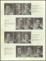 1960 Clairemont High School Yearbook Page 34 & 35