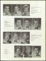 1960 Clairemont High School Yearbook Page 36 & 37