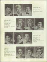 1960 Clairemont High School Yearbook Page 50 & 51