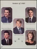1989 Wellston High School Yearbook Page 76 & 77