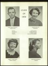1958 Unadilla High School Yearbook Page 18 & 19