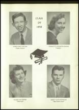 1958 Unadilla High School Yearbook Page 24 & 25