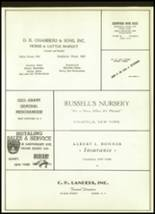 1958 Unadilla High School Yearbook Page 86 & 87