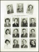 1951 Avondale High School Yearbook Page 10 & 11