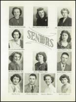1951 Avondale High School Yearbook Page 16 & 17