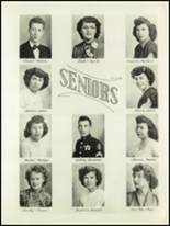 1951 Avondale High School Yearbook Page 20 & 21
