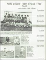 1988 West Bend High School Yearbook Page 126 & 127