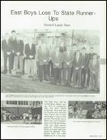 1988 West Bend High School Yearbook Page 128 & 129