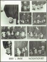 1988 West Bend High School Yearbook Page 256 & 257