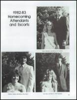 1983 East High School Yearbook Page 128 & 129