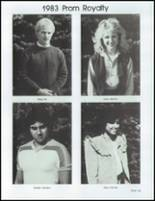 1983 East High School Yearbook Page 132 & 133