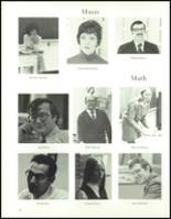 1973 Hudson High School Yearbook Page 24 & 25