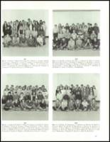 1973 Hudson High School Yearbook Page 100 & 101