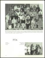 1973 Hudson High School Yearbook Page 118 & 119