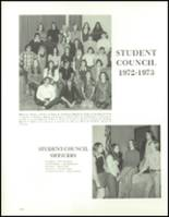 1973 Hudson High School Yearbook Page 128 & 129
